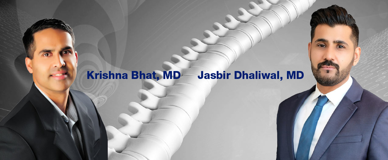 Krishna Bhat, MD and Jasbir Dhaliwal, MD